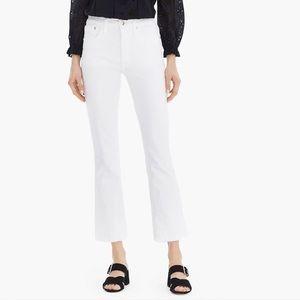 J. Crew Billie Cropped White Jeans - NWT